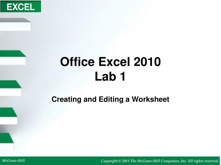 office excel 2010 lab 1 n.