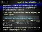 implicit localization 2