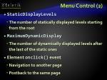 menu control 2