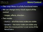 menu control