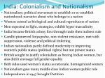 india colonialism and nationalism