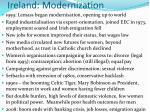ireland modernization