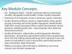 key module concepts