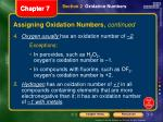 assigning oxidation numbers continued1