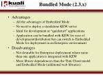 bundled mode 2 3 x2