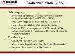 embedded mode 2 3 x2