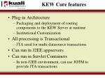 kew core features2