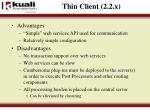 thin client 2 2 x2