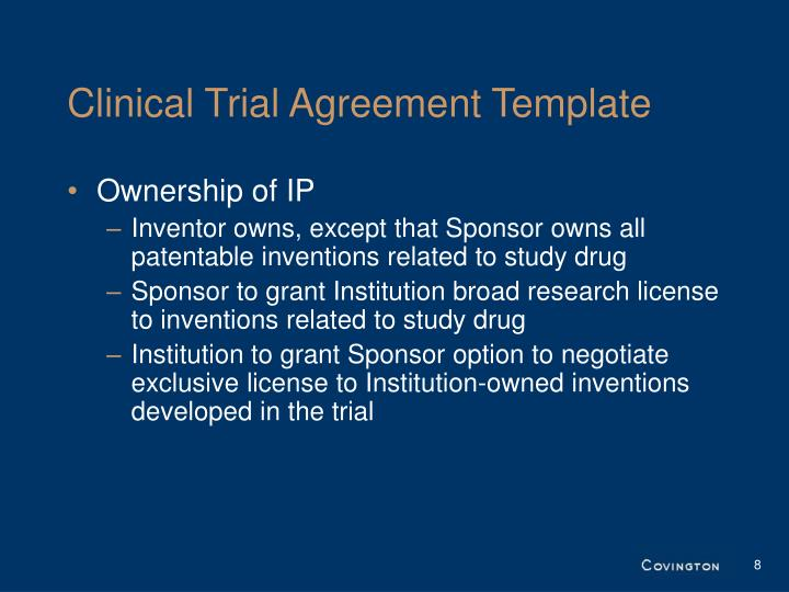 Ppt The Iom Template Project Material Transfer Agreements And