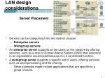 lan design considerations1