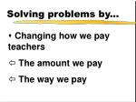 solving problems by