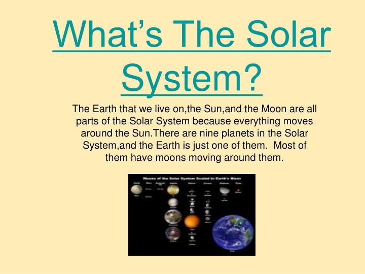 what s the solar system n.
