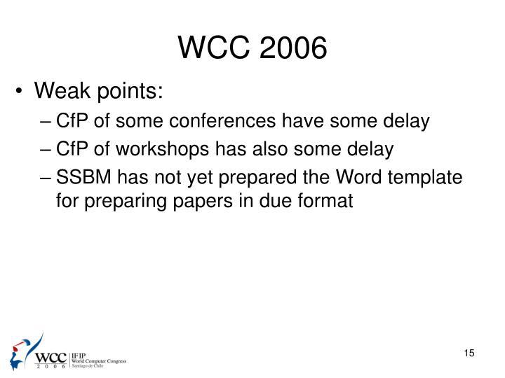 WCC 2006