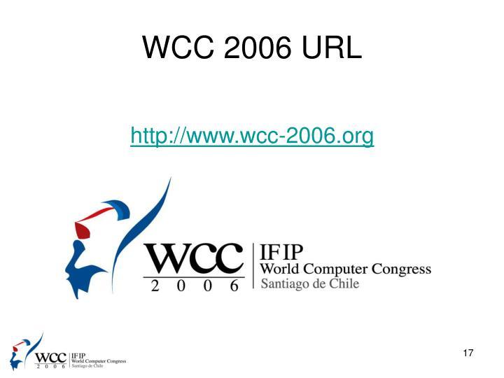 WCC 2006 URL
