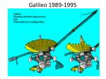 galileo 1989 1995