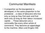 communist manifesto
