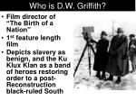 who is d w griffith