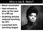 who is ida b wells