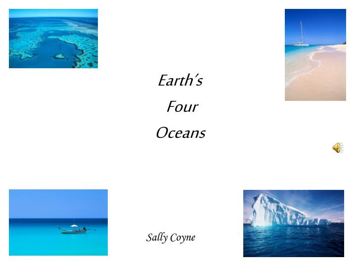 earth s four oceans n.