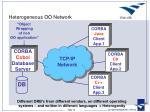 heterogeneous oo network