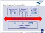 object management architecture oma