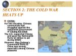 section 2 the cold war heats up1