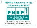 dr ida hellander executive director physicians for a national health program