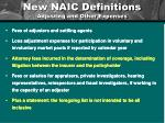 new naic definitions adjusting and other expenses