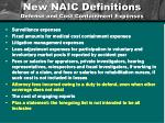 new naic definitions defense and cost containment expenses