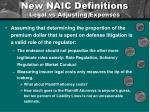 new naic definitions legal vs adjusting expenses1