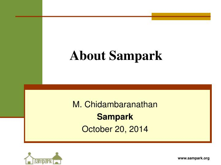 about sampark n.