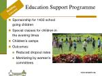 education support programme