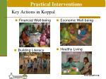 key actions in koppal