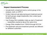 impact assessment process
