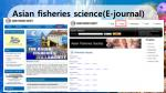 asian fisheries science e journal