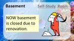 basement self study room