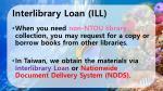 interlibrary loan ill