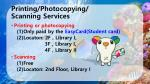 printing photocopying scanning services