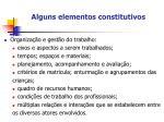 alguns elementos constitutivos1