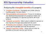 ieg sponsorship valuation1