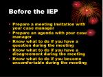 before the iep1