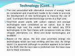technology cont