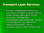 transport layer services1