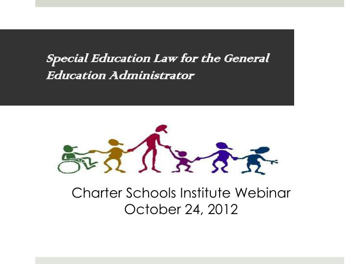 special education law for the general education administrator n.