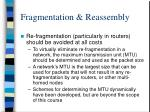 fragmentation reassembly5
