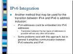 ipv6 integration2