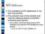 ipx addresses2