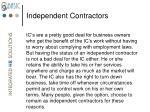 independent contractors2