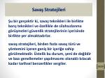 sava stratejileri9