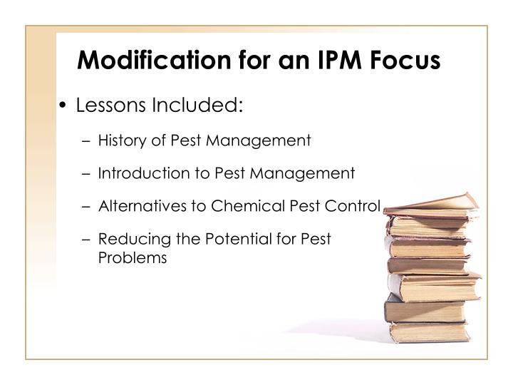 Modification for an IPM Focus